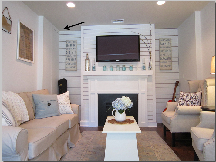 one car garage conversion ideas - How to hide the cable box