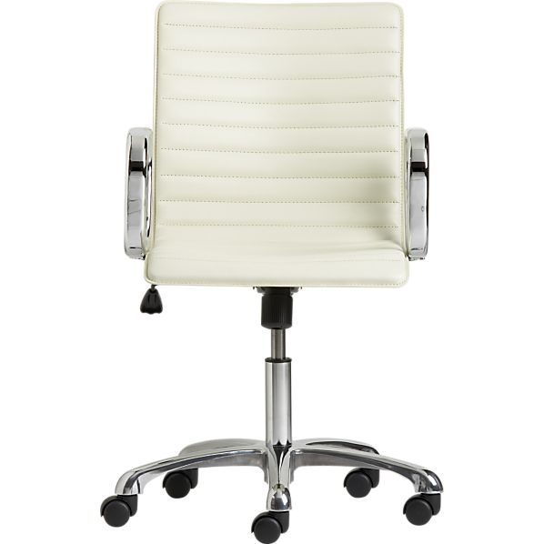 ripple-ivory-leather-office-chair
