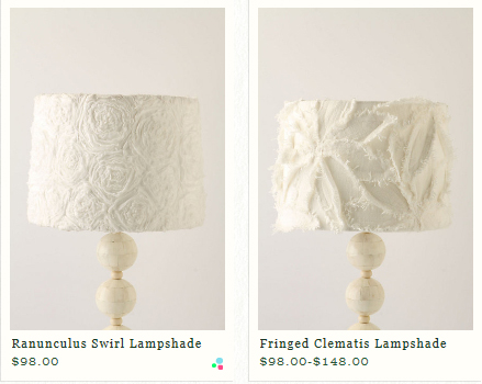 Anthro-Inspired Lamps
