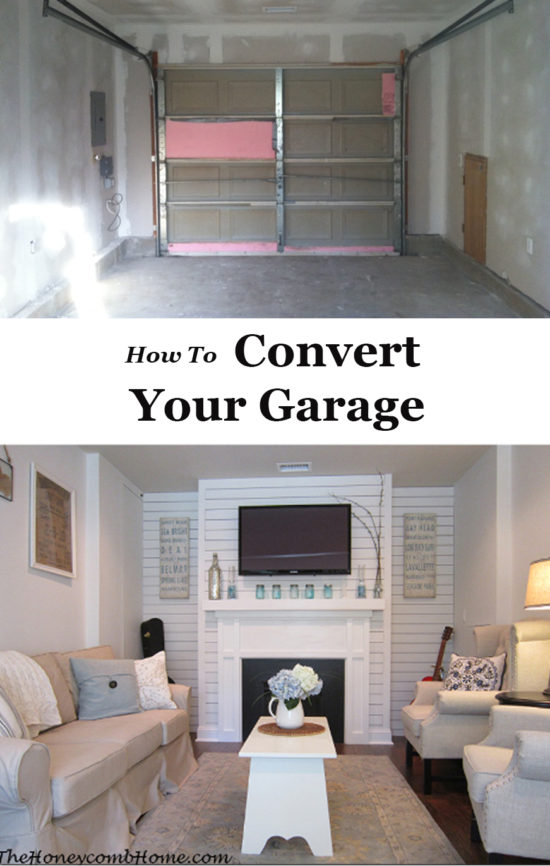 How to convert your garage into usable living space