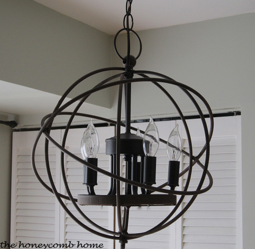 Knock-Off Restoration Hardware Chandelier