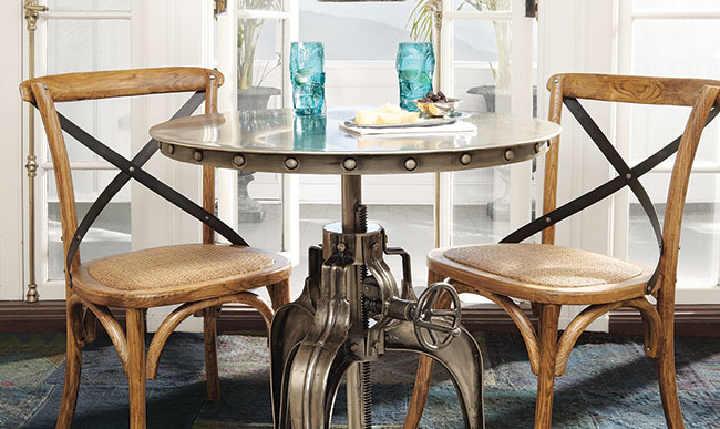 Delicieux Weston Crank Bistro Table