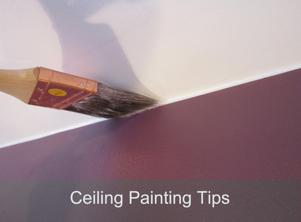 how to paint a ceiling. Black Bedroom Furniture Sets. Home Design Ideas