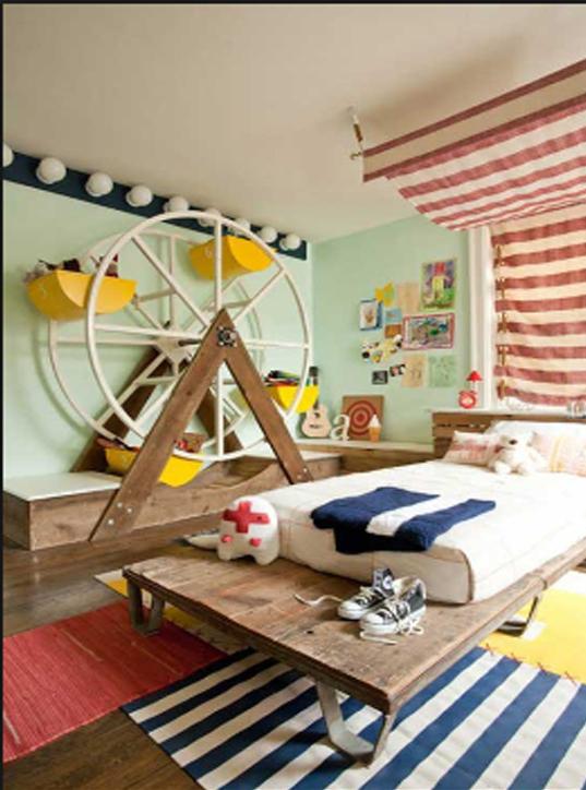 ferris wheel room