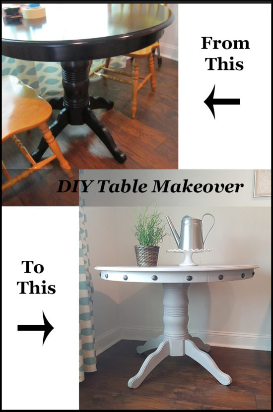 Diy Table Makeover Ideas For Your Dining Room  Part 50