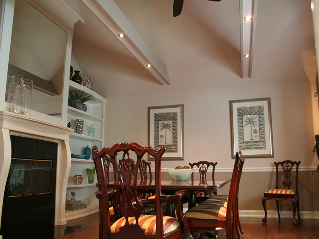 Dining Room Beams