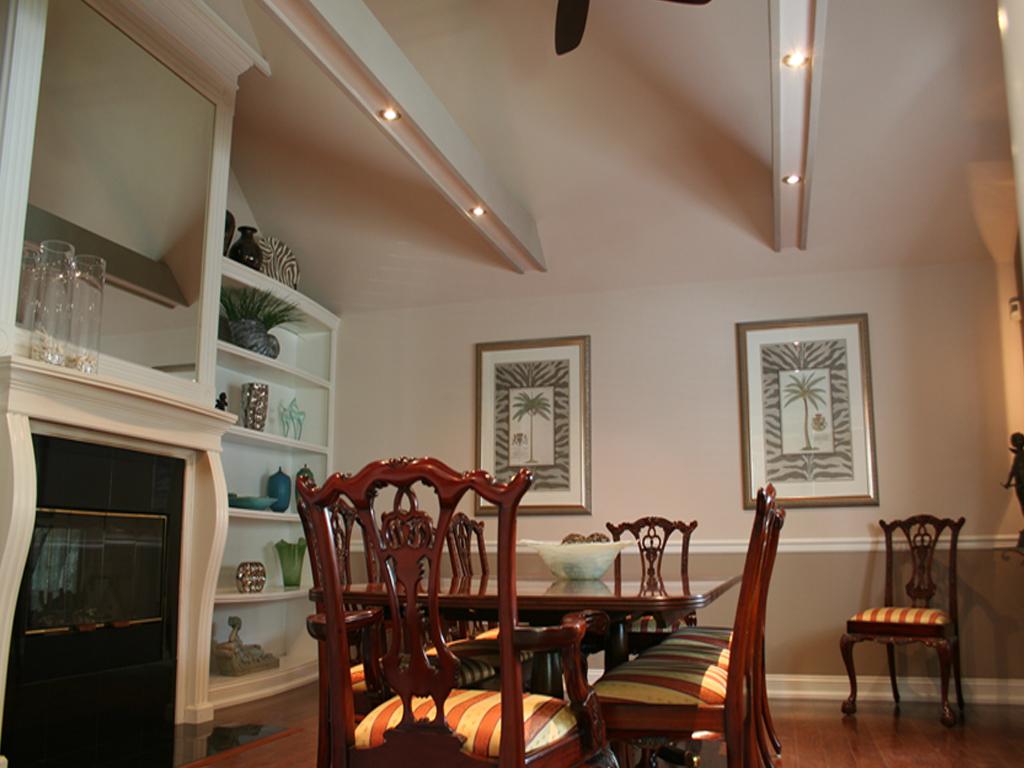 Dining Room Beams