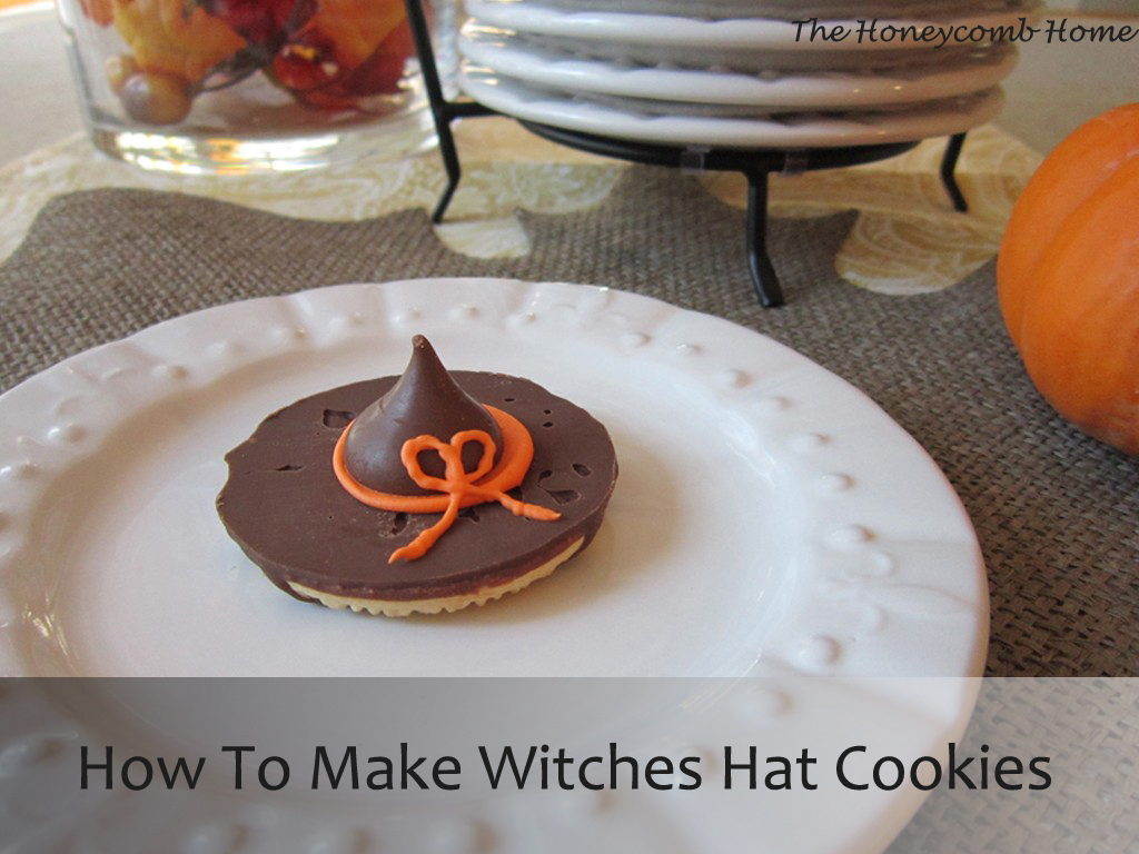 How To Make Witches Hat Cookies