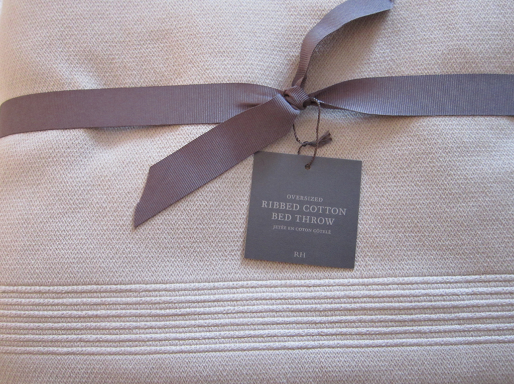 Restoration Hardware Blanket