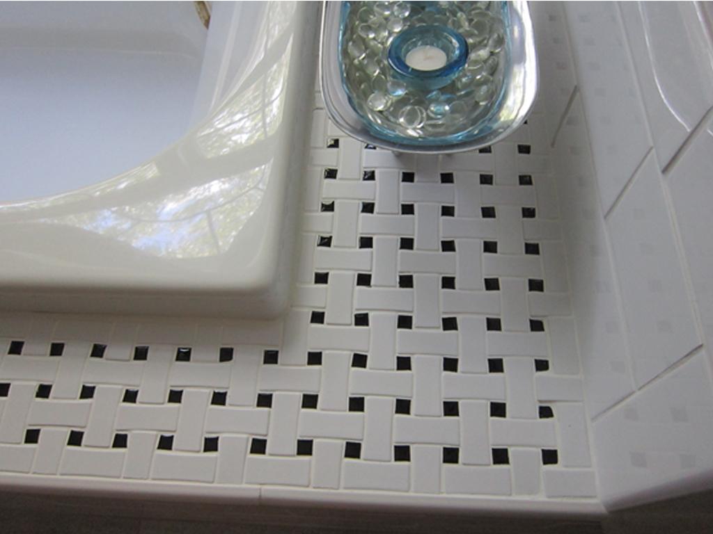basketweave tile