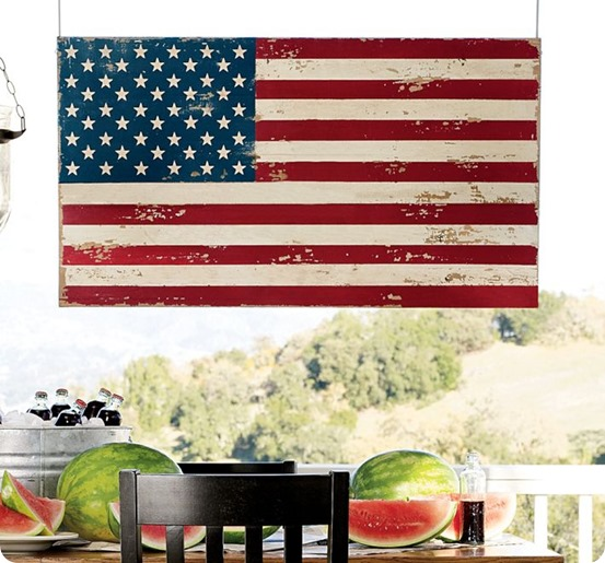 painted-american-flag