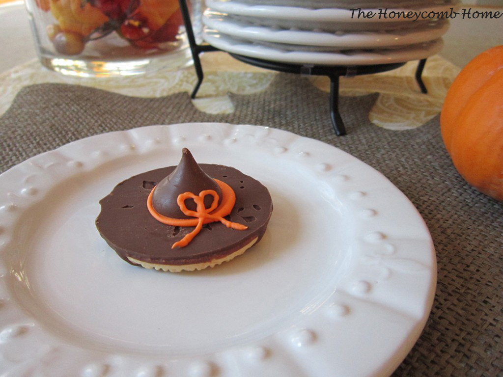 Witches Hat Halloween Cookies