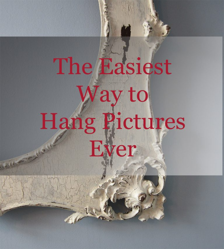 The Easiest Way To Hang Pictures Ever