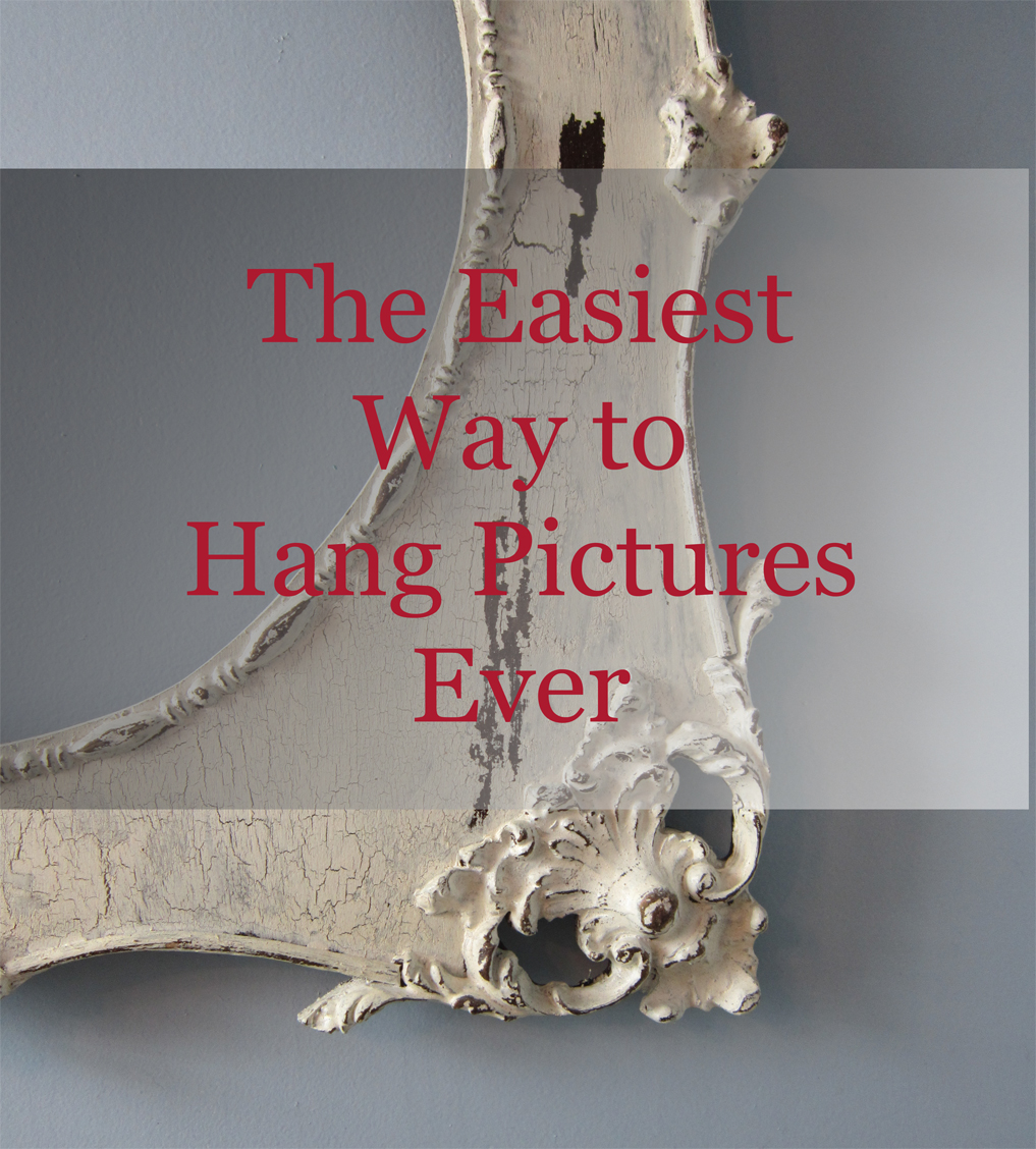 Easiest Way To Hang Pictures Ever