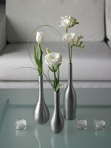 bud vase trio