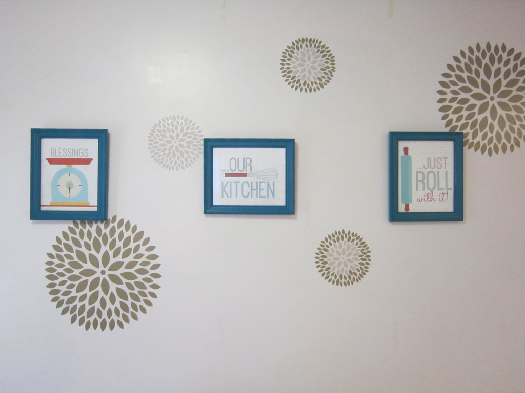 dorm wall art kitchen