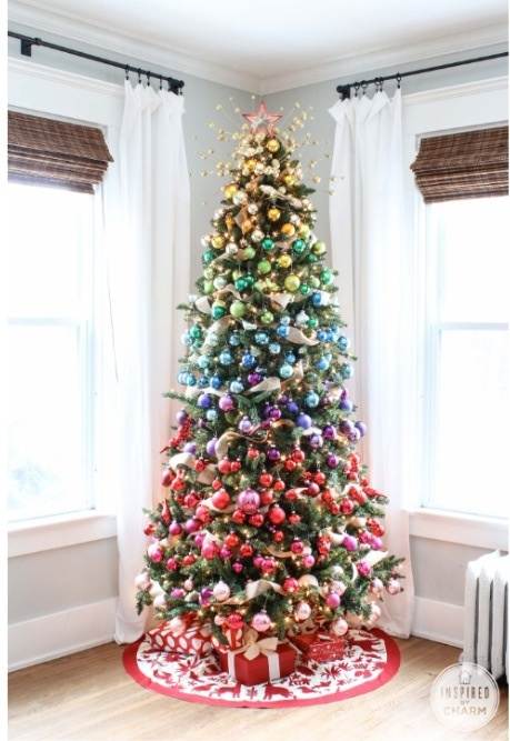 Ombré Christmas Tree