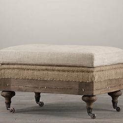 Knock Off Restoration Hardware ottoman