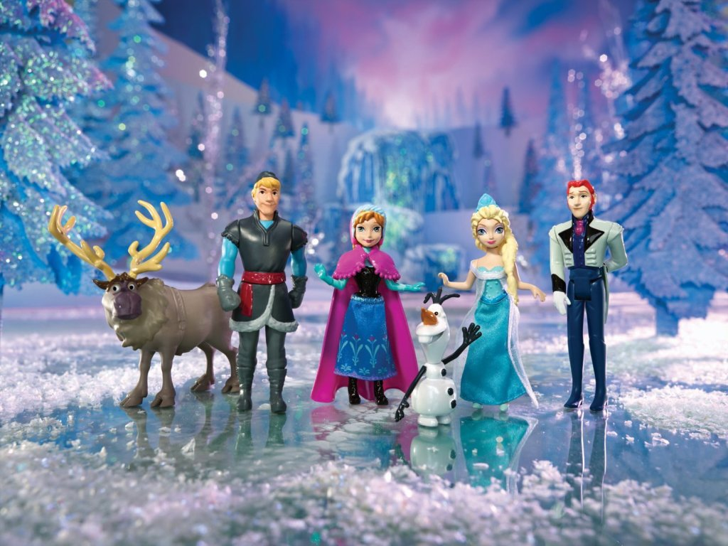 Frozen Playset
