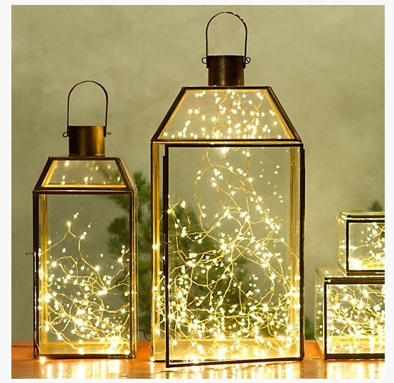Lantern String Lights Decor : glimmer strings Archives - The Honeycomb Home