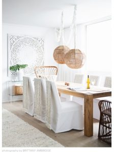 Natural dining room
