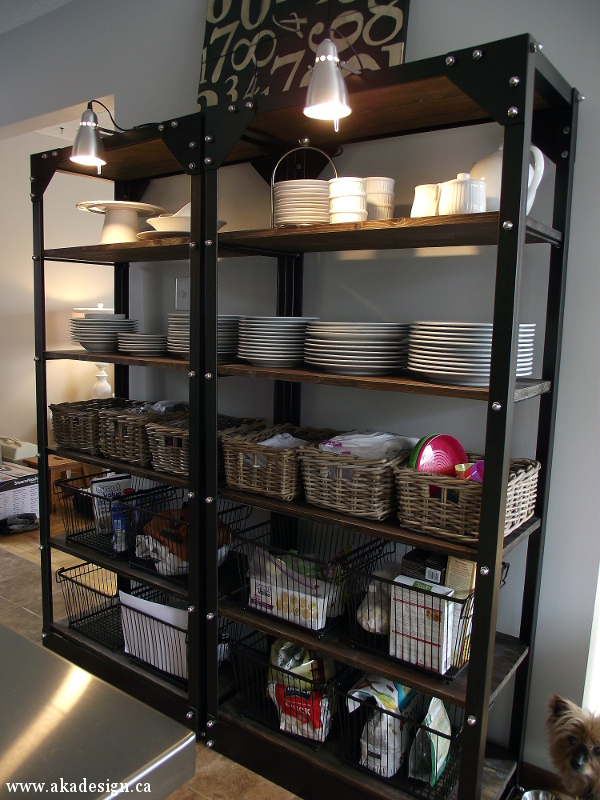Knock Off Restoration Hardware Shelves