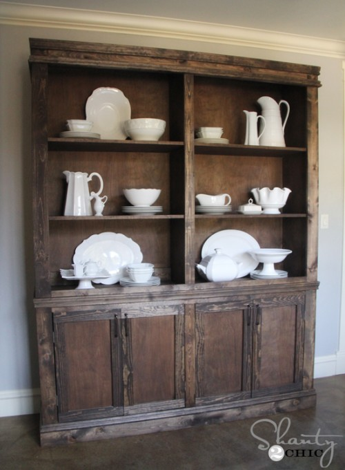 Knock Off Restoration Hardware Hutch
