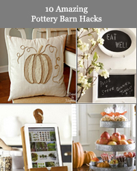 10 Pottery Barn Hacks