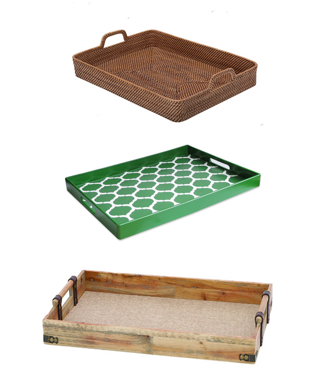 Easy Home Decorating With Trays: Decorating Accessories