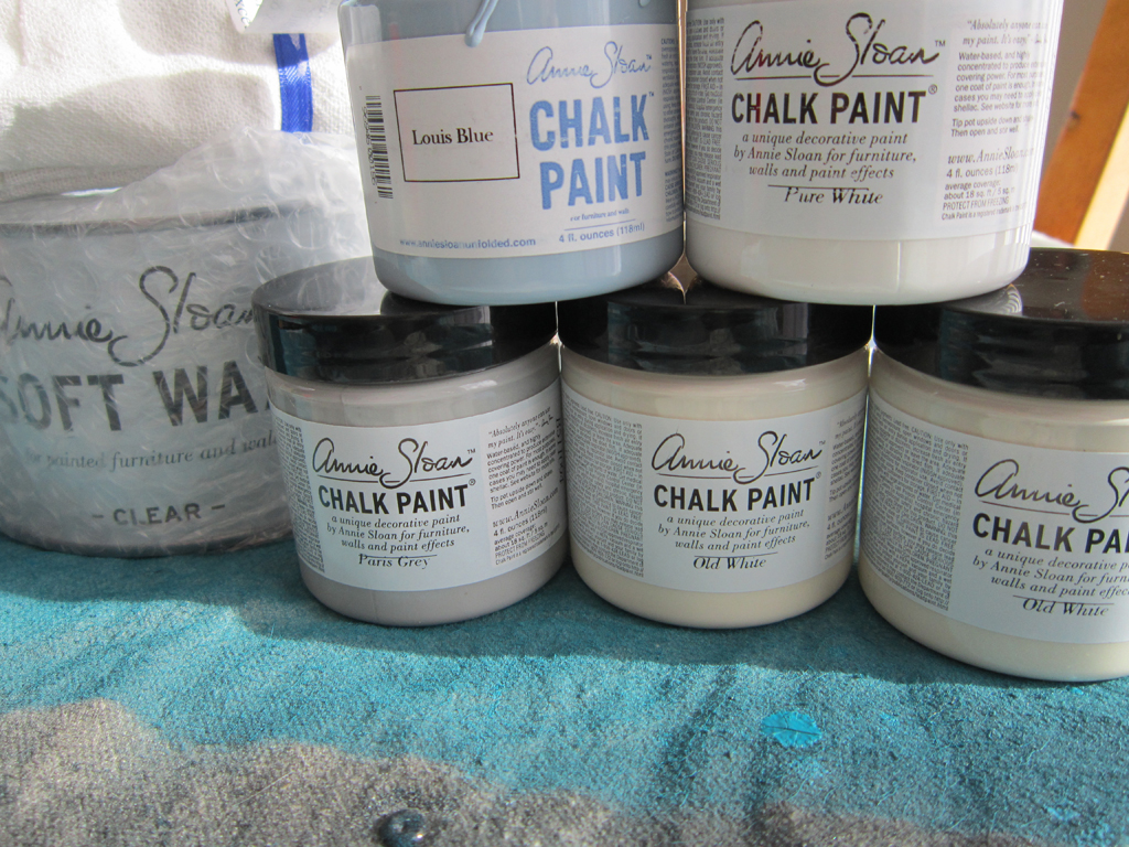 chalk paint samples