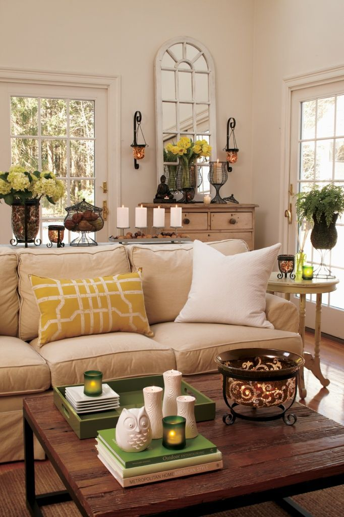 Decorating accessories for Neutral green paint colors for living room