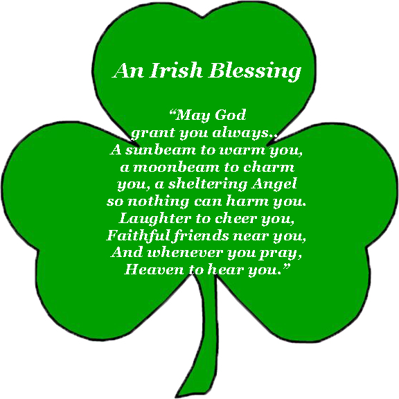 graphic about Printable Irish Blessing identify Irish Blessing Printable