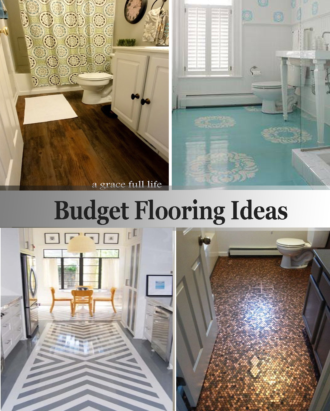 Budget flooring ideas for Cheap diy flooring ideas