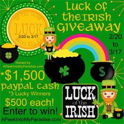 Irish Giveaway 250 X 250