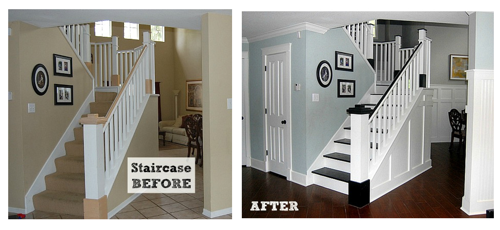 amazing staircase transformation