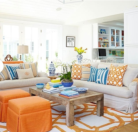 Living room color palates