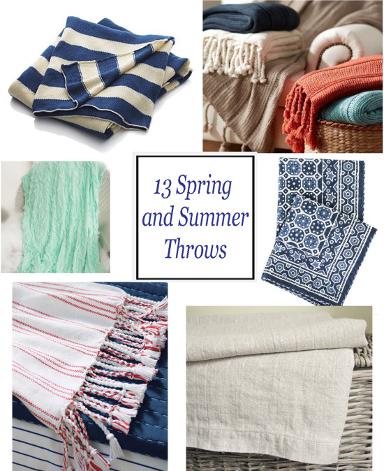 13 Spring and Summer Throws
