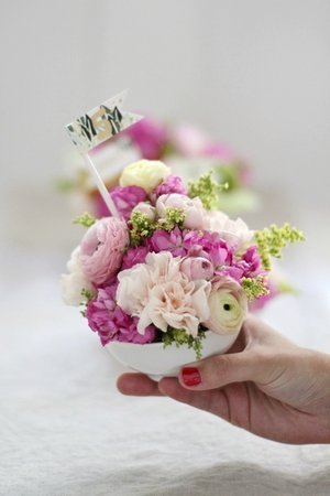 Mini Floral Arrangement DIY
