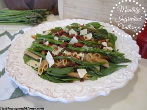 Bacon and Asparagus Pasta