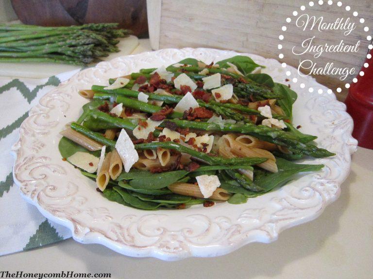 Bacon and Asparagus Pasta Recipe