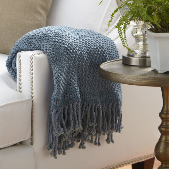 Birch Lane Denim Throw