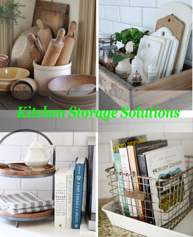 Kitchen Organization Where To Put Everything: Kitchen Storage Ideas
