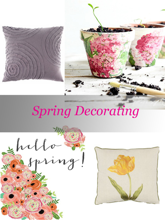 Spring Decorating