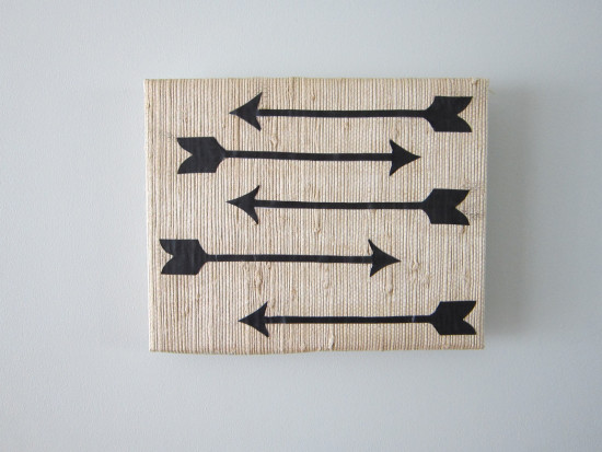 arrow wall art