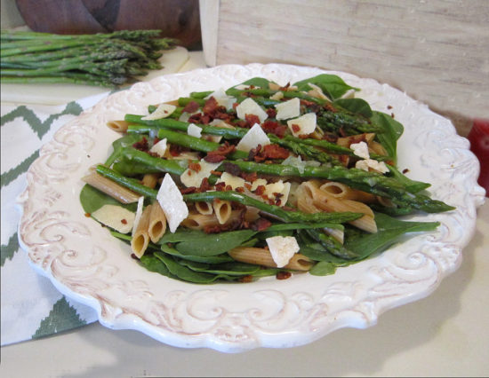 bacon and asparagus pasta recipe