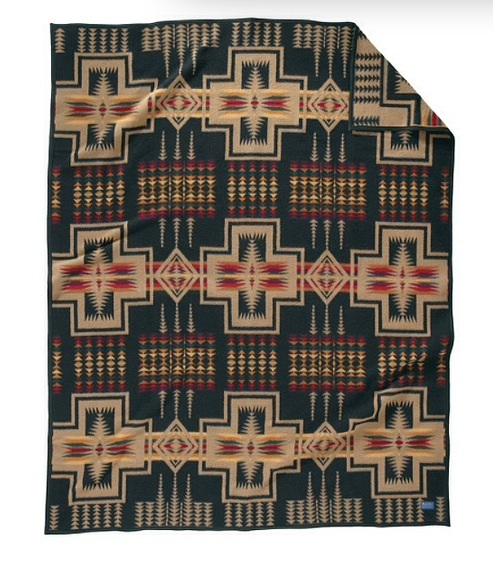 Tribal throw
