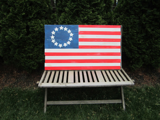 DIY Wooden Flag