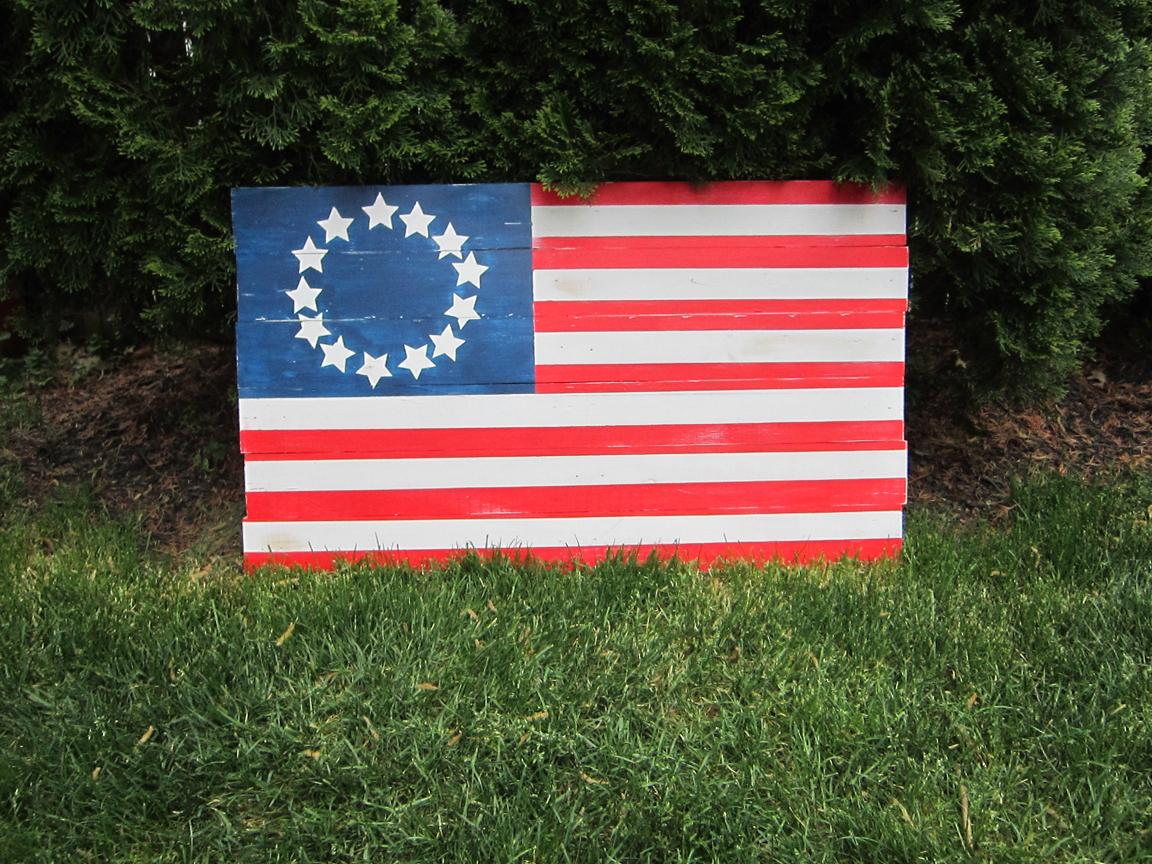 Pottery Barn Flag Hack