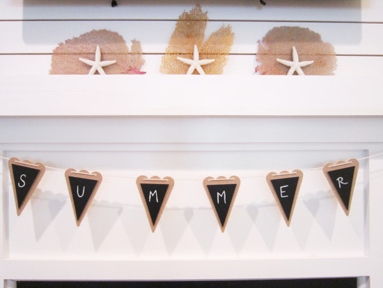 Summer Bunting Banner
