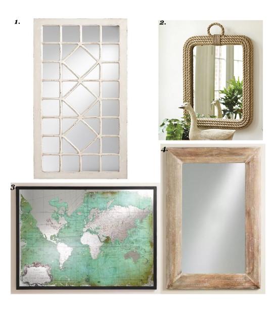 foyer mirrors